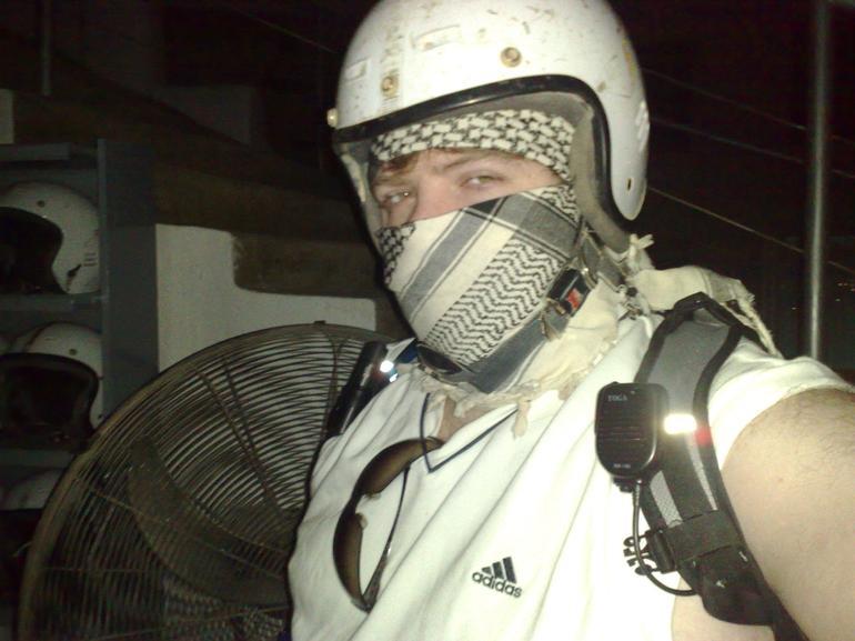 Safety first, not fashion... - Sharm el Sheikh