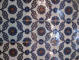 The blue tiles, Behnam Akhavan - June 2010