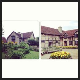 Stratford-upon-Avon, the house where Shakespeare was born. , Inocencia O - September 2013