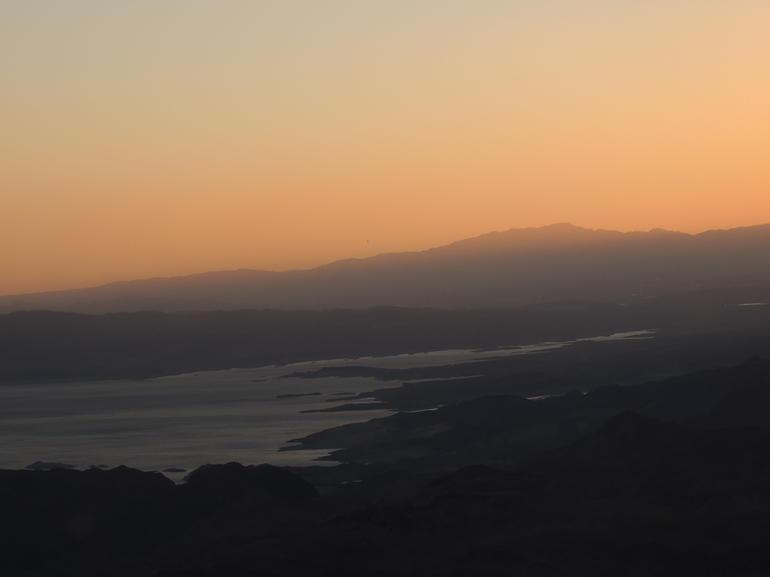 Sunset over Lake Mead - Las Vegas