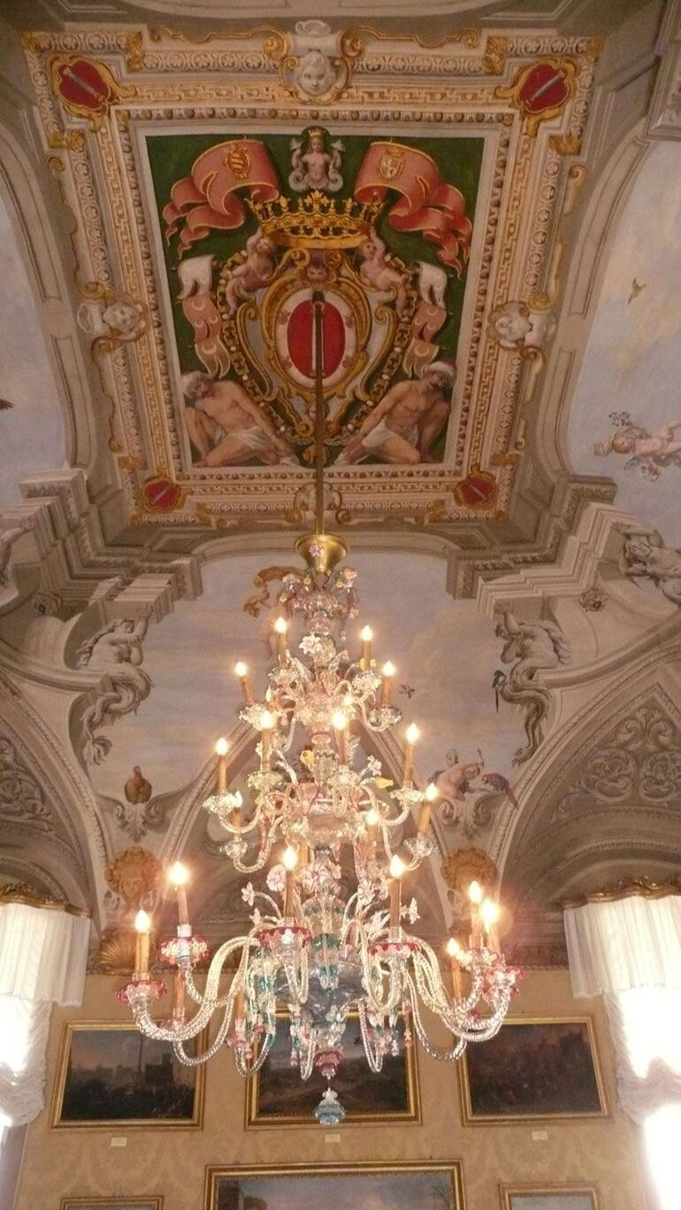 The Ceiling in the Palazzo Colonna - Rome