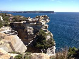 A short stop at the cliff on a perfectly clear and sunny day. , Maria T - December 2013