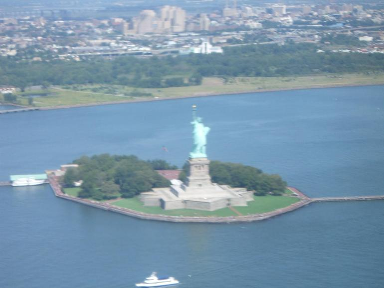The Statue of Liberty at Liberty Island - New York City