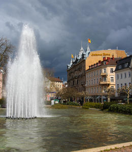This was taken on our walking tour of Baden-Baden , goodjon - April 2013