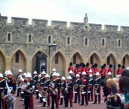 Changing of the guard to the British Marine Guards , sjg6922 - July 2014
