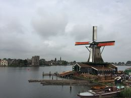 Windmill in Zaanse Schans , Edana - August 2016