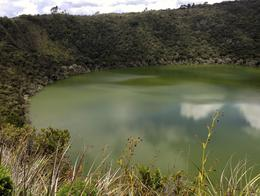 The surprising mountaintop cauldron of Lake Guatavita - September 2013