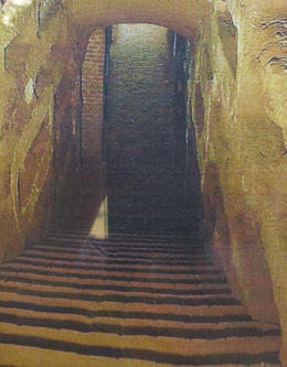Descending into the catacombs , Marion B - January 2017