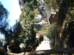 View of the entrance to Park Guell from the surrounding area. , Courtney R - January 2018