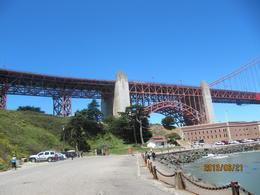 foten av golden gate bron , åke w - July 2013