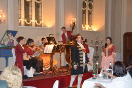 Musicians for the Mozart dinner concert. , Denise T - April 2014