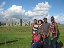 Our little group posing for a snapshot at Stonehenge before making our way home. , Shaneka L - August 2013