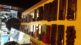 Our first stop on the tour, we chose which chocolates we wanted to try. , Abigail M S - September 2015