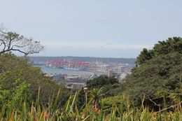 a view of Durban's big ports while at the Howard University , Doc Nice - September 2015
