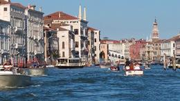 Grand Canal on tour of Venice , Jennifer T - October 2016
