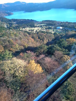 Taken whilst on the Komagatake Ropeway , Gail P - November 2015