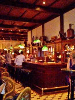 Long Bar at Raffles Hotel, listening to a great band with a and quot;Sling and quot; in the hand , Jeanette Lewis L - January 2014