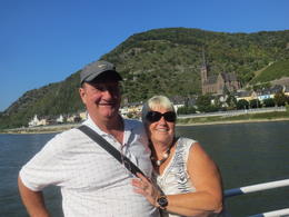 We are on the boat going up the river. , Cheryl D - October 2014