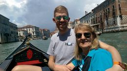 I took my mum to Venice and the tour finishes up with a 30 minute gondola ride through the canals. , Daniel C - June 2016