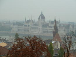 View of parliament from Fishermens Bastion , Ruth G - October 2011