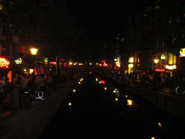 During tour by canal on a Friday night. , Kimberly J - September 2014