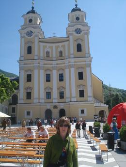 Before getting to Salzburg, we stopped off in Mondsee and visited this beautifl church. An international 10K race was being held in the city so there was a lot of activity and the place was abuzz., David F - July 2010