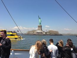Sailing towards the Statue of Liberty. , Brenda Harwood H - May 2015
