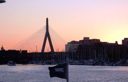 Boston Harbor sunset cruise. , Tracy D - October 2015
