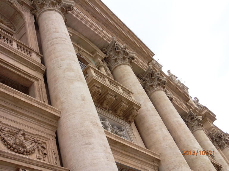 The Pope's appearence Balcony - Rome