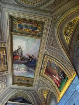 Painted ceiling. , Diane P - July 2014