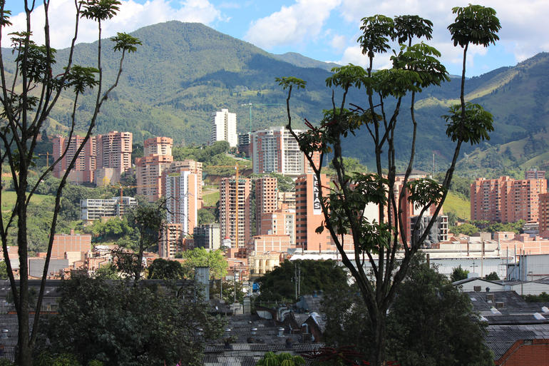 View from Cemetery - Medellín