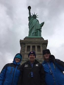 Family shot in front of Liberty , Yvonne - November 2016