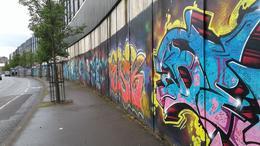 Peace Wall Belfast , Deborah B - December 2016