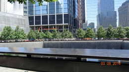 9/11 Memorial. Ex-location of the South Tower , ThanatosBg - August 2016