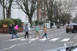 Crossing Abbey Road - July 2014