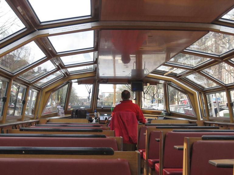 Boat inside - Amsterdam