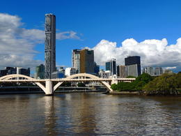 Great views of Brisbane on the cruise. , Kevin F - June 2014
