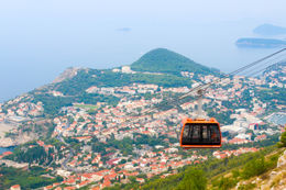 Cable car at Dubrovnik , Jennifer J - August 2015