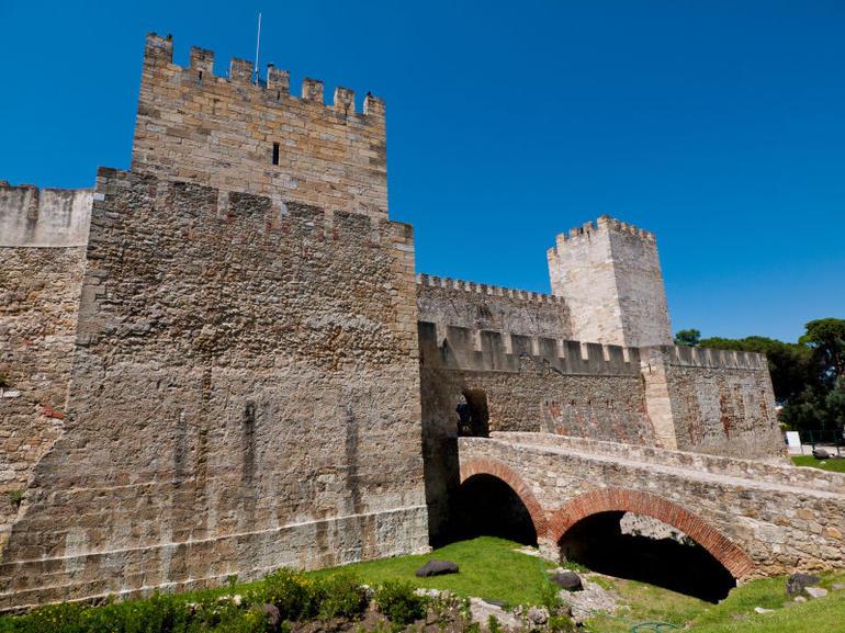 Castelo de Sao Jorge in Lisbon, Portugal - Lisbon