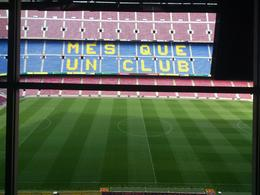 inside Barça's press room, Rosane - August 2013