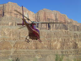 Flying in Grand Canyon , Patricia B - August 2014
