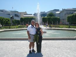 "This is a fountain where the kids in the movie ""Sound of Music"" danced around, Salzburg, David F - July 2010"