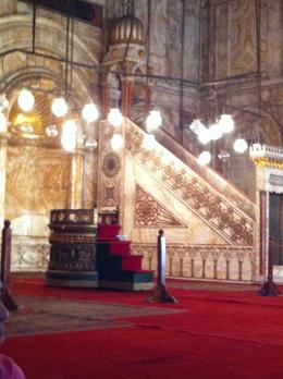Inside the Alabaster Mosque , Suzy - October 2012