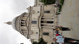 The beautiful St. Paul's Cathedral, Travel Mom - July 2011