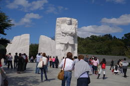 Part of the Martin Luther King Memorial. , Sherry G - October 2014