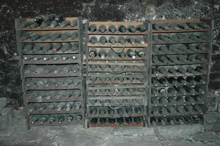 Old wine bottles - Florence