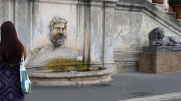 Fountain in courtyard. , Vetta E S - September 2016