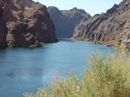 Rafting down the Colorado River , IRVINE - September 2011