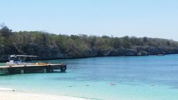This is a picture of the second snorkel area, on the other side of the dock you can snorkel a couple hundred feet out and all along the cliffs and see lobster, crabs, stingrays etc. There is a..., Shauna - April 2016