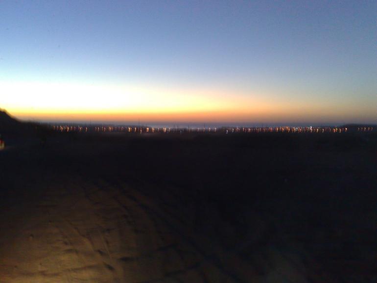 Sun... on the way up :-) ... - Sharm el Sheikh